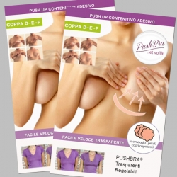 PushBra PLUS 16 + 16 pieces-Cup D-E-F